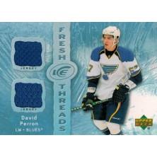 Perron David - 2007-08 Ice Fresh Threads No.FT-DP