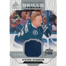 Stamkos Steven - 2018-19 SP Game Used 18 All Star Skills Fabrics No.AS-SS