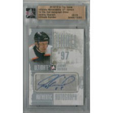 Roenick Jeremy - 2012-13 ITG Ultimate Memorabilia To the Hall Autographs No.28