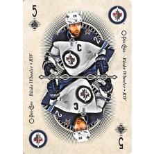 Wheeler Blake - 2018-19 O-Pee-Chee Playing Cards No.5 A1
