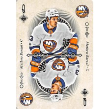 Barzal Mathew - 2018-19 O-Pee-Chee Playing Cards No.Q A1