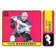 Barbashev Ivan - 2018-19 O-Pee-Chee Retro No.427 A1