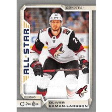 Ekman-Larsson Oliver - 2018-19 O-Pee-Chee Silver No.10 A1