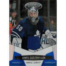 Gustavsson Jonas - 2010-11 Certified Mirror Blue No.135