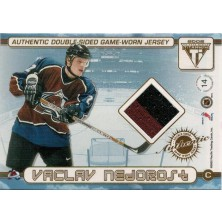 Nedorost Václav, Tanguay Alex - 2001-02 Titanium Double-Sided Jerseys 2clrs, red No.14