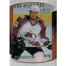 Forsberg Peter - 1997-98 Upper Deck Sixth Sense Masters No.SS21