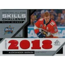 Barkov Aleksander - 2018-19 SP Game Used 18 All Star Skills Relic Blends No.ASRB-AB