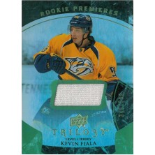 Fiala Kevin - 2015-16 Trilogy Rainbow Green No.108