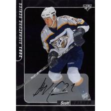 Walker Scott - 2000-01 BAP Signature Series Autographs No.43
