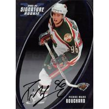 Bouchard Pierre-Marc - 2002-03 BAP Signature Series Autographs No.196