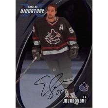 Jovanovski Ed - 2002-03 BAP Signature Series Autographs No.29