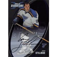 Stillman Cory - 2002-03 BAP Signature Series Autographs No.117