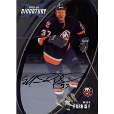 Parrish Mark - 2002-03 BAP Signature Series Autographs No.54