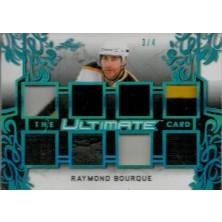 Bourque Ray - 2018-19 Leaf Ultimate The Ultimate Relics Platinum Blue Spectrum No.TUC-14