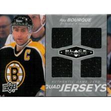 Bourque Ray - 2010-11 Black Diamond Jerseys Quad No.QJ-RB
