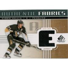 Malkin Evgeni - 2011-12 SP Game Used Authentic Fabrics No.AF-EM