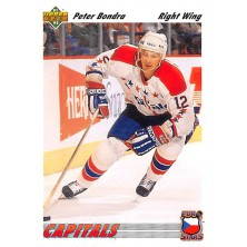 Bondra Peter - 1991-92 Upper Deck Euro-Stars No.E12