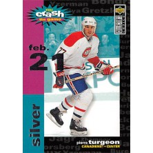 Turgeon Pierre - 1995-96 Collectors Choice Crash the Game Silver (Feb.21) No.C15.3