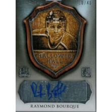 Bourque Ray - 2015-16 Leaf ITG Enshrined Hallowed Hall Signatures Silver No.HH-RB1