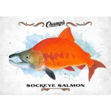 Fish Sockeye Salmon - 2015-16 Champs No.F-25