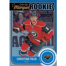 Folin Christian - 2014-15 O-Pee-Chee Rainbow No.537