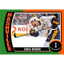 Weber Shea - 2014-15 O-Pee-Chee Stickers No.ST21
