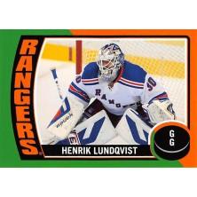Lundqvist Henrik - 2014-15 O-Pee-Chee Stickers No.ST77