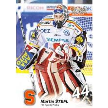 Štefl Martin - 2007-08 OFS No.166
