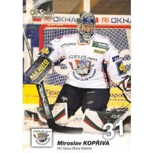 Kopřiva Miroslav - 2007-08 OFS No.367