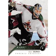 Burke Sean - 2002-03 Upper Deck Super Saviors No.SA11