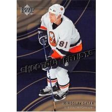 Šatan Miroslav - 2006-07 Upper Deck Shootout Artists No.SA2