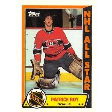 Roy Patrick - 1989-90 Topps Sticker Inserts No.6