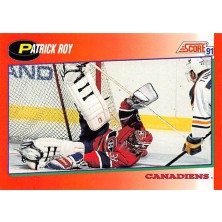 Roy Patrick - 1991-92 Score Canadian English No.75