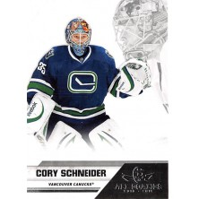 Schneider Cory - 2010-11 All Goalies Up Close No.86