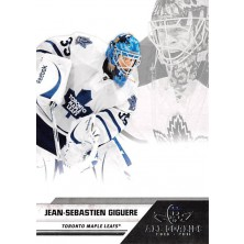 Giguere Jean-Sebastien - 2010-11 All Goalies Up Close No.83