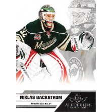 Backstrom Niklas - 2010-11 All Goalies Up Close No.40