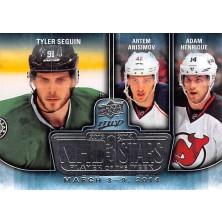 Seguin Tyler, Anisimov Artem, Henrique Adam - 2014-15 MVP NHL Three Stars Player of the Week No.3SW-03.10.14