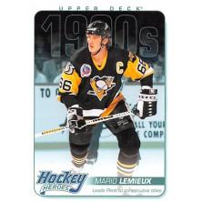 Lemieux Mario - 2013-14 Upper Deck Hockey Heroes No.HH63