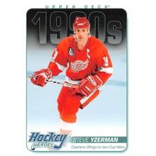 Yzerman Steve - 2013-14 Upper Deck Hockey Heroes No.HH57