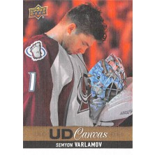 Varlamov Semyon - 2013-14 Upper Deck Canvas No.C189