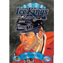 Chelios Chris - 1993-94 Donruss Ice Kings No.5