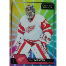 Mrázek Petr - 2016-17 O-Pee-Chee Platinum Rainbow Color Wheel  No.145