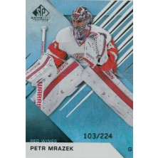 Mrázek Petr - 2016-17 SP Game Used Rainbow Player Age No.19