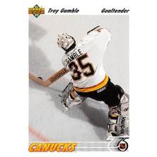 Gamble Troy - 1991-92 Upper Deck No.120
