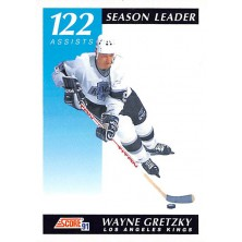 Gretzky Wayne - 1991-92 Score Canadian English No.295
