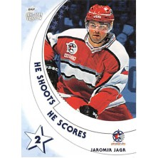 Jágr Jaromír - 2002-03 BAP All-Star Edition He Shoots He Scores Points No.12