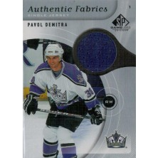 Demitra Pavol - 2005-06 SP Game Used Authentic Fabrics No.AF-DE