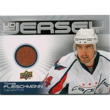 Fleischmann Tomáš - 2010-11 Upper Deck Game Jerseys No.GJ-TF
