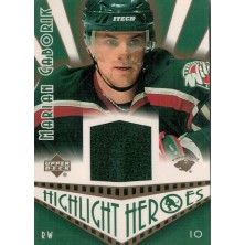 Gáborík Marián - 2003-04 Upper Deck Highlight Heroes Jerseys No.HH-MG