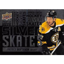 Bergeron Patrice - 2012-13 Upper Deck Silver Skates No.SS3